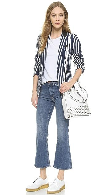 MICHAEL Michael Kors Dottie Large Studded Bucket Bag