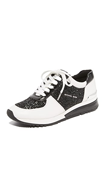 6cd8e2577c335 MICHAEL Michael Kors Allie Wrap Trainer Sneakers