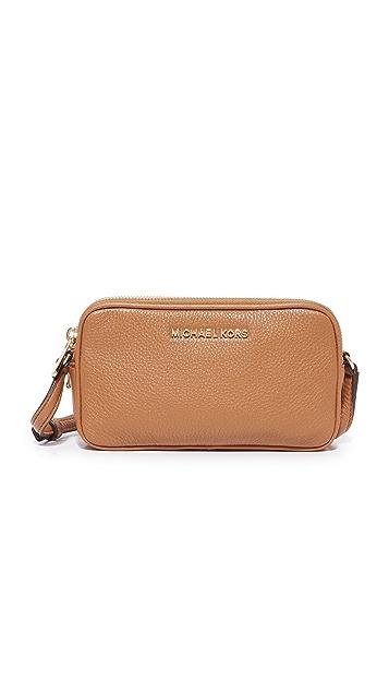 5c855b1a73b0 MICHAEL Michael Kors Bedford Double Zip Cross Body Bag