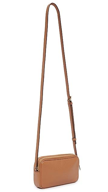 b3dd78b40a227 Bedford Double Zip Cross Body Bag