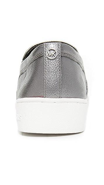 MICHAEL Michael Kors Leo Starburst Slip On Sneakers