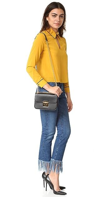33bcf005bdf8 ... MICHAEL Michael Kors Sloan Editor Medium Chain Shoulder Bag ...