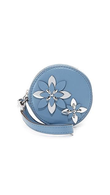 MICHAEL Michael Kors Flowers Coin Pouch