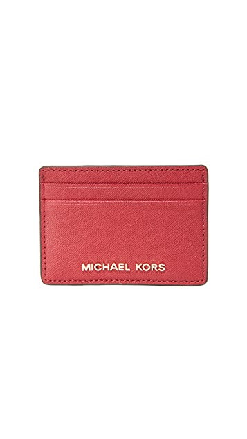 MICHAEL Michael Kors Jet Set Card Holder