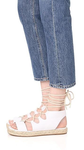 MICHAEL Michael Kors McKenna Lace Up Sandals