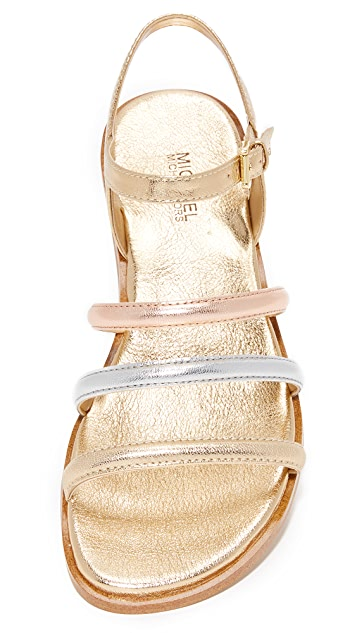 66923a31cee2 ... MICHAEL Michael Kors Nantucket Flat Sandals ...