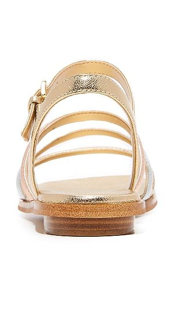 55c2ad55c454 ... MICHAEL Michael Kors Nantucket Flat Sandals