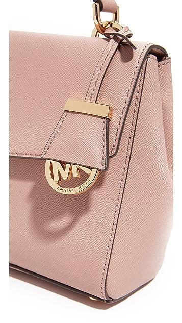MICHAEL Michael Kors Маленькая сумка-портфель Ava с ручкой сверху