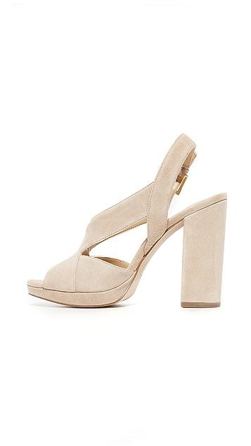 MICHAEL Michael Kors Becky Platform Sandals