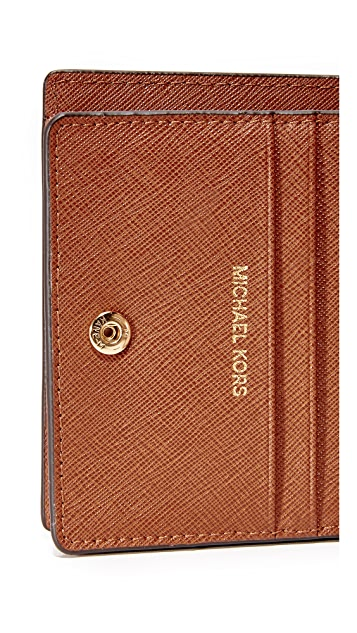 MICHAEL Michael Kors Jet Set Mini Wallet