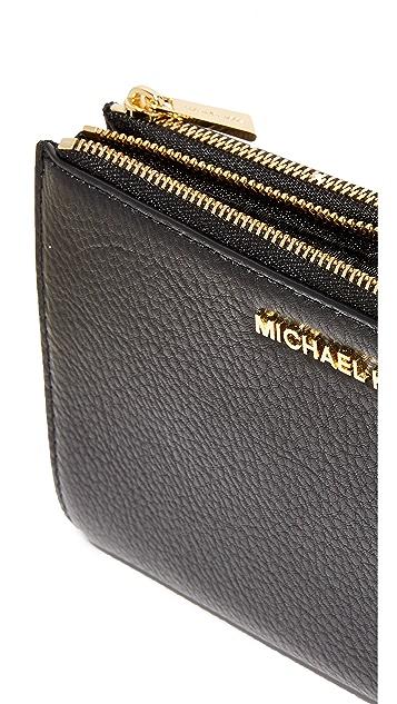 MICHAEL Michael Kors Adele 双拉链手腕包
