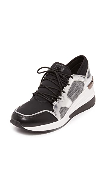 MICHAEL Michael Kors Scout Metallic Trainer Sneakers
