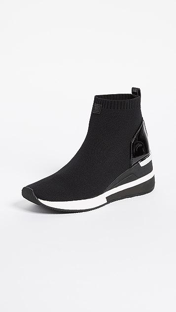 c7d045d4e9b MICHAEL Michael Kors Skyler Stretch Sneaker Booties