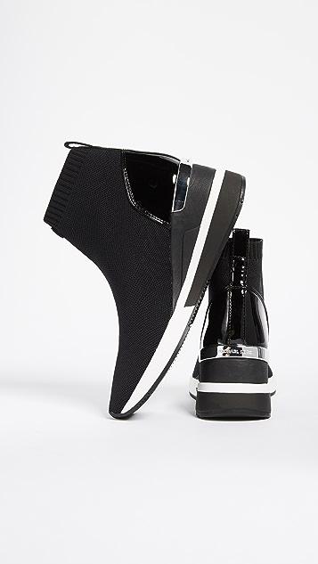 aa0d7daf29c ... MICHAEL Michael Kors Skyler Stretch Sneaker Booties ...