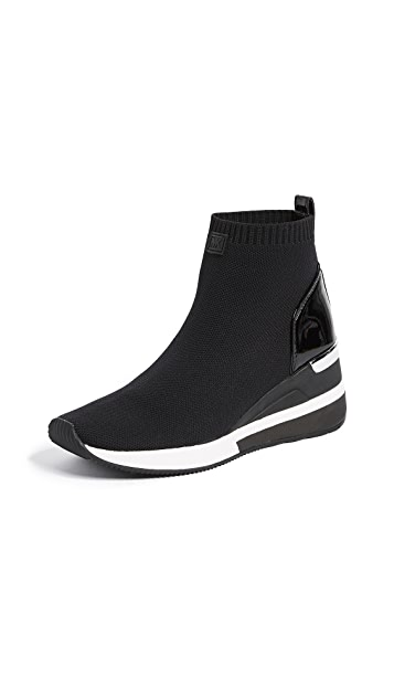 MICHAEL Michael Kors Skyler Stretch Sneaker Booties