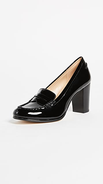 MICHAEL Michael Kors Bayville Heeled Loafers