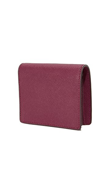 MICHAEL Michael Kors Flap Card Holder