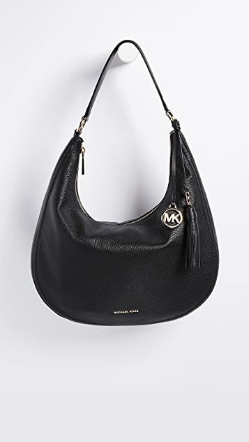 1ab6afbd84069 MICHAEL Michael Kors Medium Lydia Hobo Bag