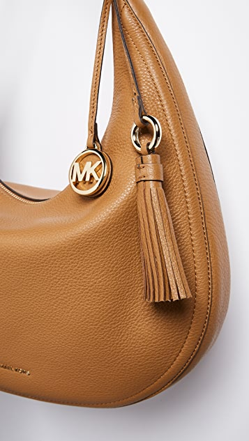 41058b0ab3c2 ... MICHAEL Michael Kors Medium Lydia Hobo Bag ...