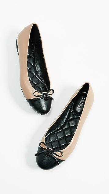 96e04c9acff1 MICHAEL Michael Kors Melody Toe Cap Ballerinas ...