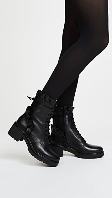 MICHAEL Michael Kors Bella Ruffle Boots