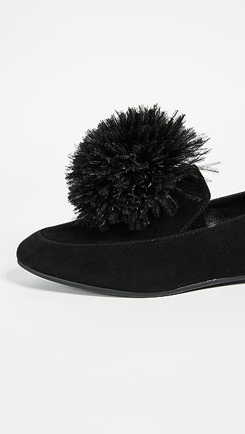 MICHAEL Michael Kors Fara Pom Pom Loafers