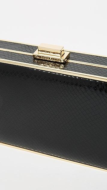 MICHAEL Michael Kors Imitation Pearl Box Clutch