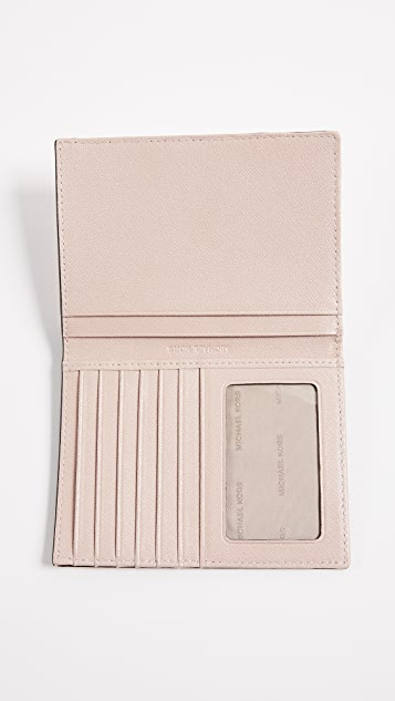 MICHAEL Michael Kors Money Pieces Passport Wallet