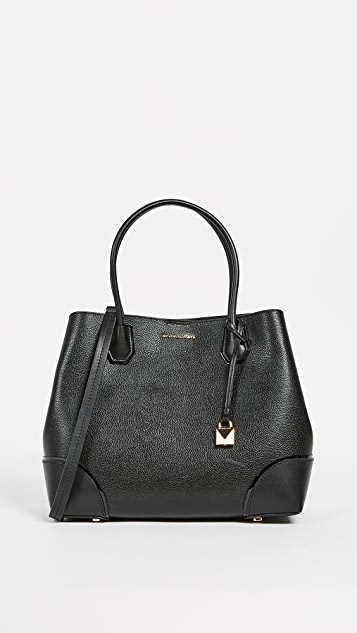 Large Mercer Corner Snap Tote by Michael Michael Kors