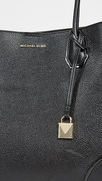 MICHAEL Michael Kors Large Mercer Corner Snap Tote