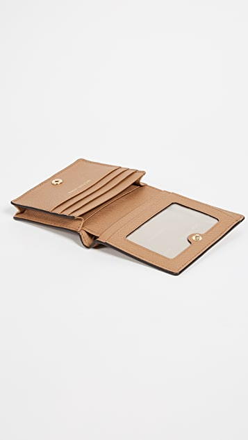 sale retailer eda59 bb511 Money Pieces Flap Card Holder
