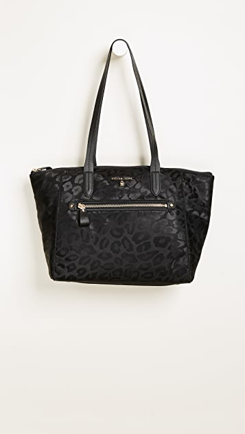 MICHAEL Michael Kors Nylon Kelsey Medium Top Zip Tote