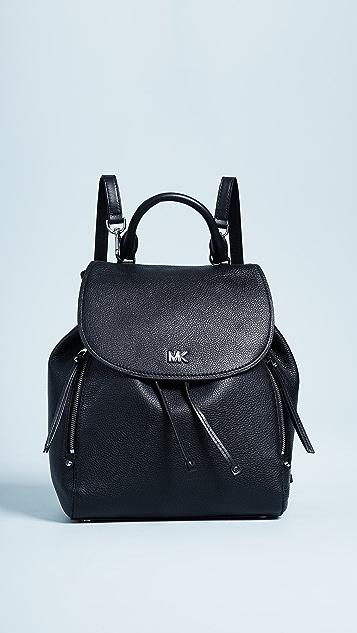 MICHAEL Michael Kors Evie Medium Backpack - Black