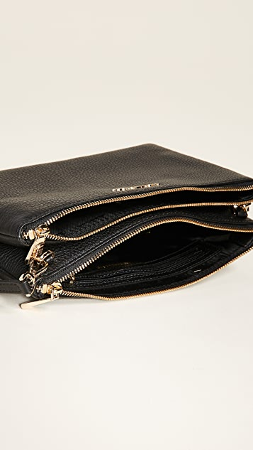 MICHAEL Michael Kors Double Zip Cross Body Bag