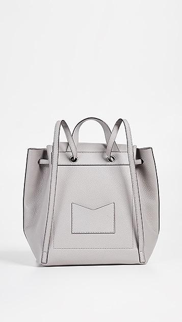 MICHAEL Michael Kors June Medium Flap Backpack