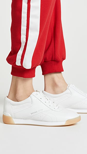 MICHAEL Michael Kors Addie Lace Up Sneakers