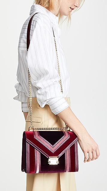MICHAEL Michael Kors Large Tricolor Shoulder Bag