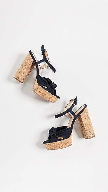 MICHAEL Michael Kors Pippa Block Heel Platforms