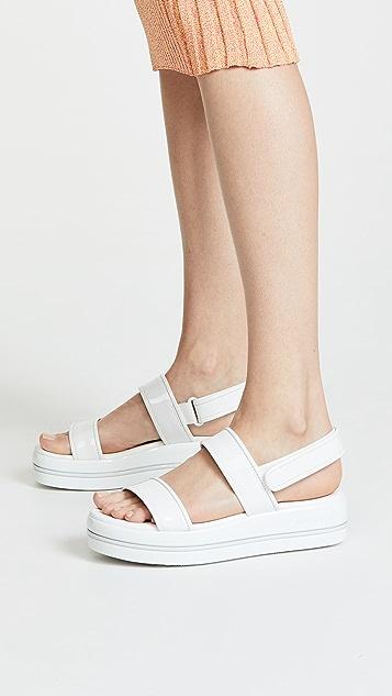 MICHAEL Michael Kors Peggy Platform Sandals