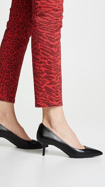 where to buy autumn shoes the best MICHAEL Michael Kors MK Flex Kitten Heel Pumps | SHOPBOP