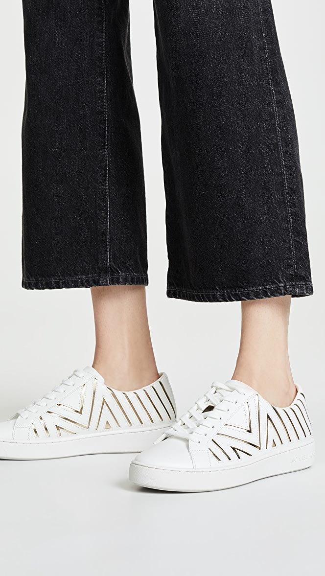 MICHAEL Michael Kors Whitney Laceup Sneakers | SHOPBOP