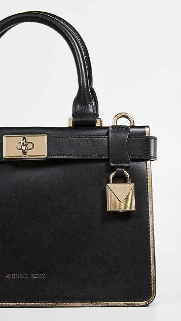 cb9008701a03 ... greece michael michael kors tatiana mini satchel 9a311 4d4c0