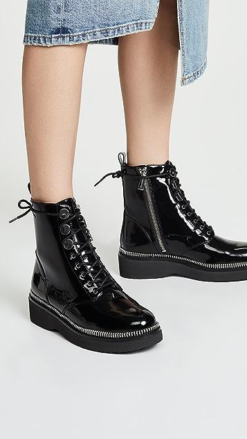 MICHAEL Michael Kors Tavie Combat Boots