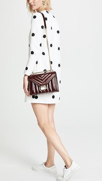 574a2986c6d6 ... MICHAEL Michael Kors Whitney Panel Quilt Crackle Shoulder Bag ...