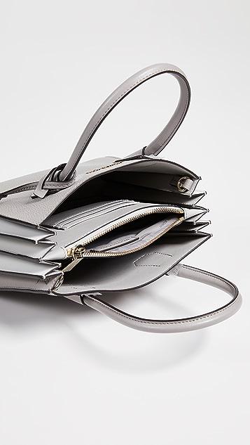 MICHAEL Michael Kors Medium Accordion Messenger Bag