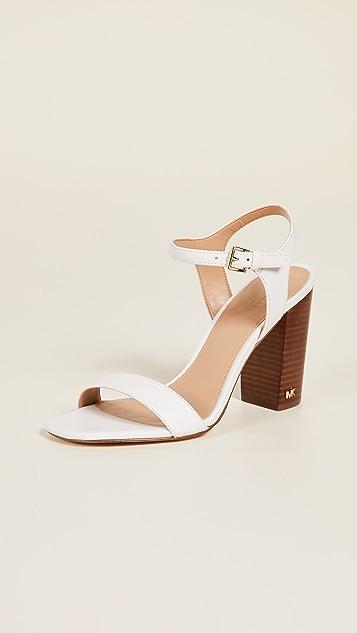 MICHAEL Michael Kors Francine Ankle Strap Sandals