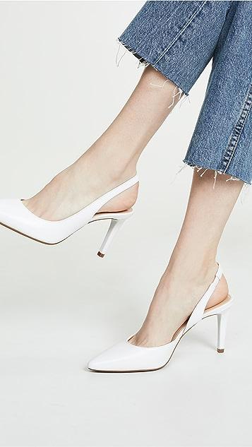 MICHAEL Michael Kors Гибкие туфли-лодочки Lucille на каблуке с ремешком на пятке