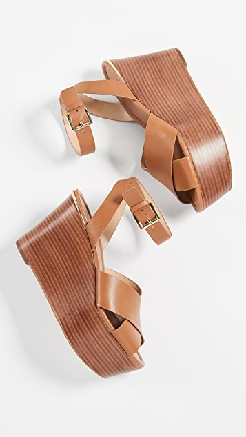 MICHAEL Michael Kors Abott Mid Wedge Sandals