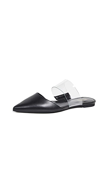 MICHAEL Michael Kors Brina Point Toe Flats