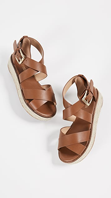 MICHAEL Michael Kors Darby Strappy Espadrilles